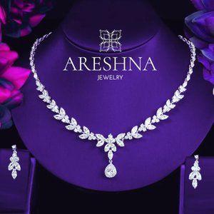 Luxury Swarovski Crystals Bridal Jewelry Set
